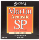 Martin SP 80/20 Bronze Light/Medium MSP3150 Acoustic Guitar Strings 0125-0550